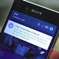 Video thực tế cho thấy Sony Xperia Z3 + quả tải nhiệt khi chạy ứng dụng Camera