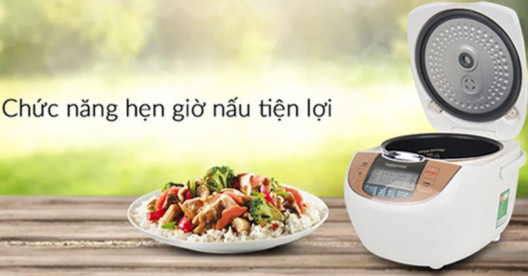 Đánh giá nồi cơm điện Happy Cook có mấy loại ?