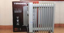 Với 5 ưu điểm này máy sưởi dầu Tiross luôn là lựa chọn tốt nhất