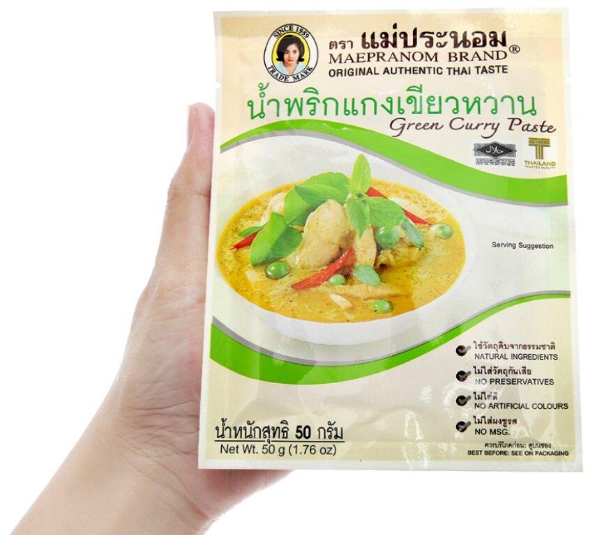 Tom Yum Maepranom Eufood Gói 50g