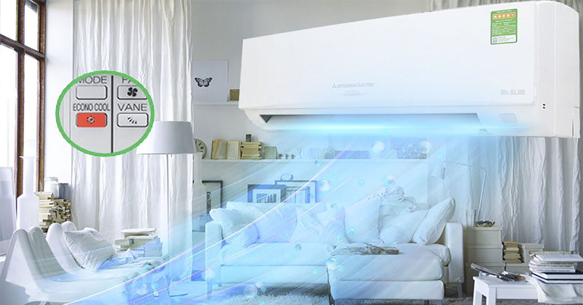 Vượt khó mùa nóng với chế độ tiết kiệm điện Econo trên điều hoà Daikin