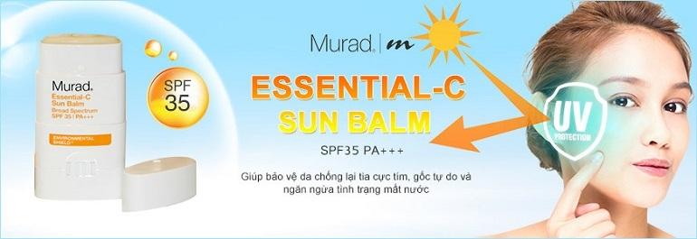Kem chống nắng dạng lăn Murad Essential-C Sun Balm