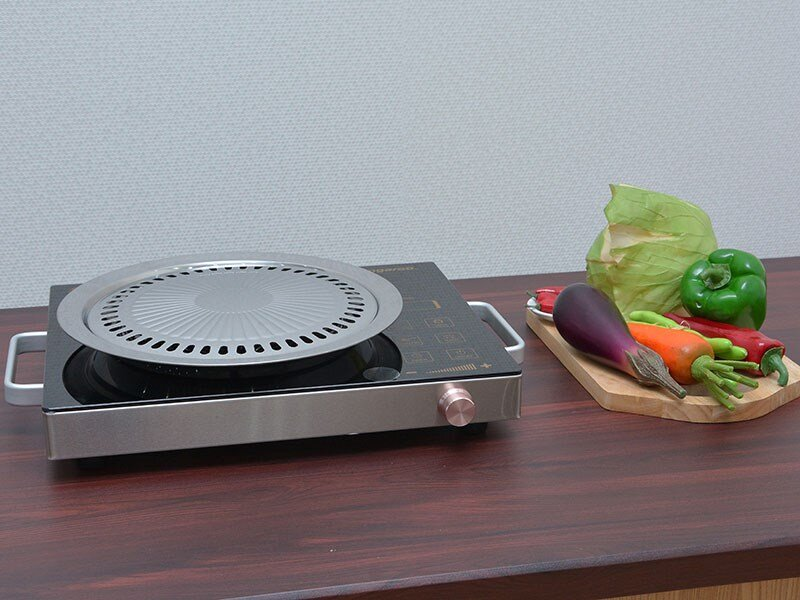 Hình ảnh bếp hồng ngoại đơn Kangaroo nhỏ gọn