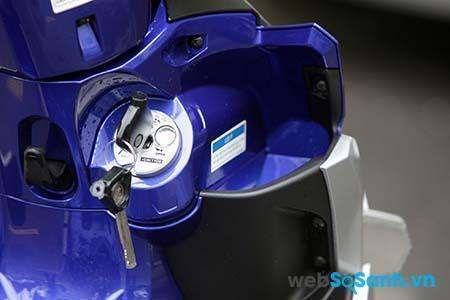 Bộ khóa mới của Yamaha rất hiện đại với nhiều tính năng vượt trội