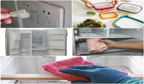 vệ sinh tủ lạnh nhanh gọn