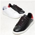 Giày sneaker da nữ cá tính 2.0cm