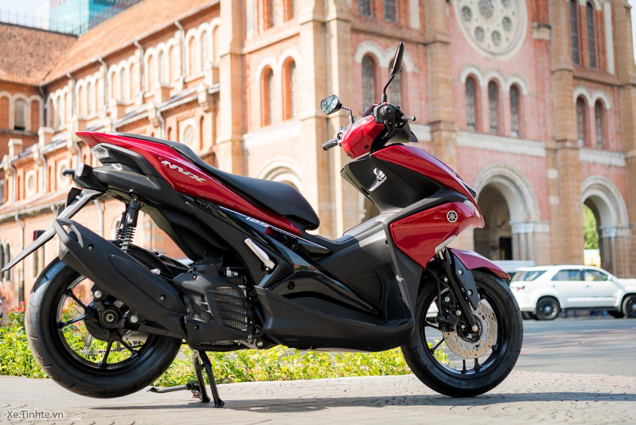 Yamaha NVX 125 thiết kế khỏe khoắn và cá tính