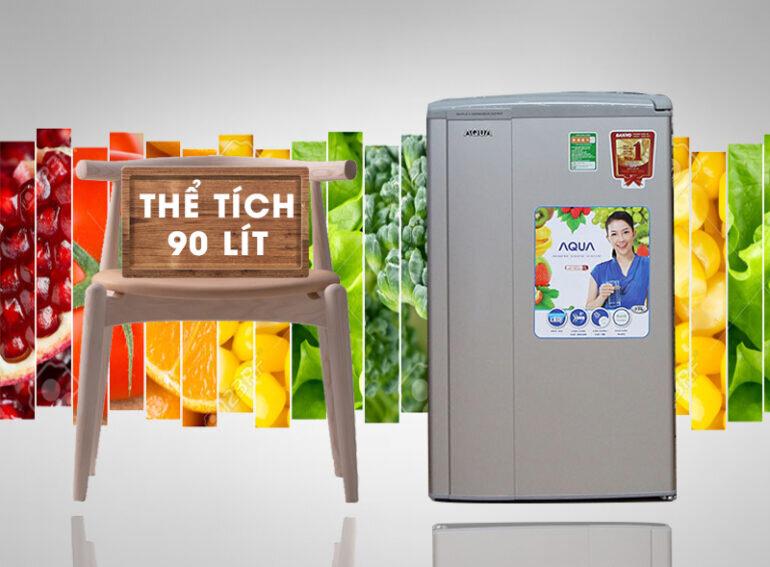 Tủ lạnh mini Aqua 90 lít AQR-95AR - Giá tham khảo: 2.990.000 vnđ