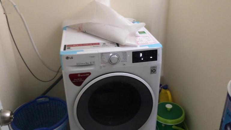 máy giặt LG FC1408s4W2 ồn không