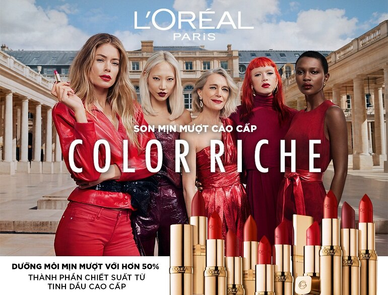 Son môi L'Oreal Paris Color Riche Le Rouge mới