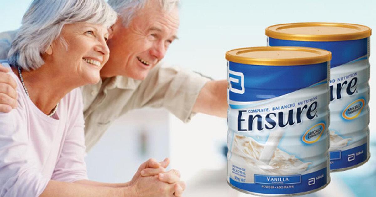 Sữa Ensure loại sữa tốt cho người già