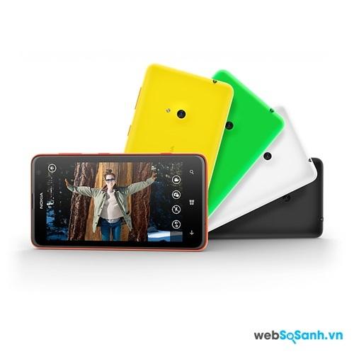 Lumia 625 giúp bạn thể hiện phong cách và cá tính qua những gram mầu