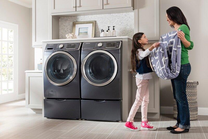 Khi máy giặt không xả nước được bạn hãy liên hệ chuyên gia hoặc tham khảo các cách xử lý