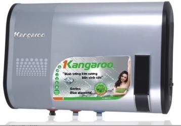 Bình tắm nóng lạnh gián tiếp Kangaroo KG60 (KG-60) - 2400W, 32 lít, chống giật
