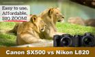 Canon PowerShot SX500 IS và Nikon Coolpix L820 - kỳ phùng địch thủ (phần cuối)