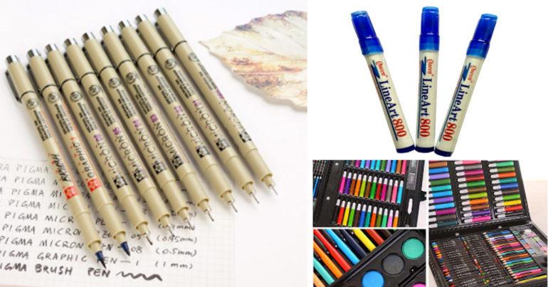 Bút line art có mấy loại ?