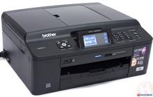 So sánh máy in đa năng giá rẻ có photocopy, scan, fax Brother MFC -J625dw và HP Laserjet Pro M1212nf