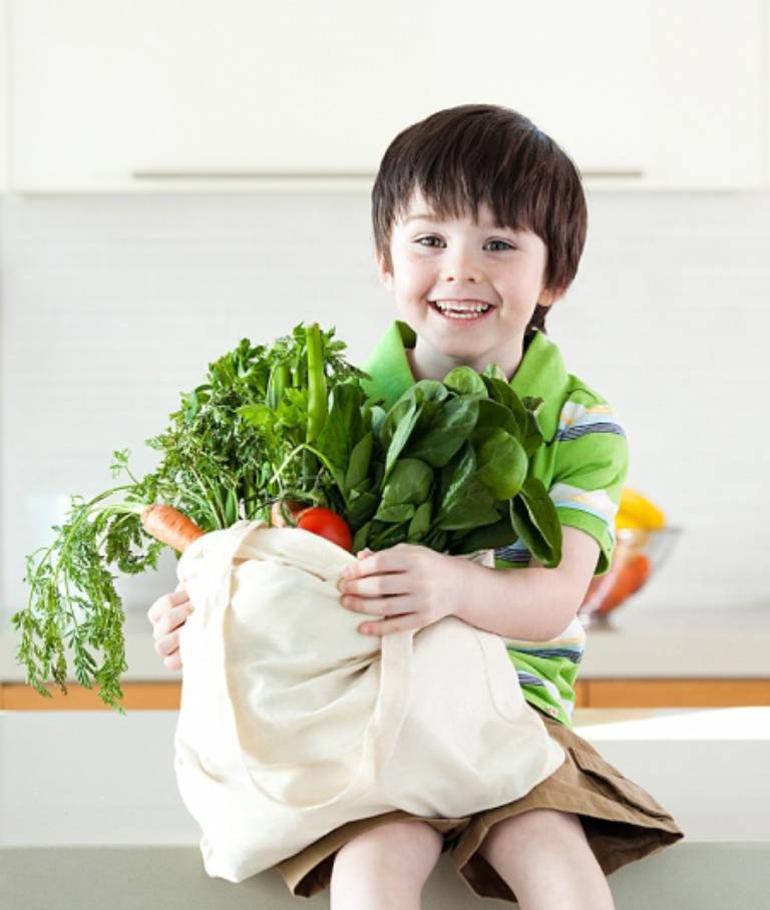 Giúp trẻ thích thú với các món rau hơn