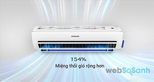 đánh giá chất lượng điều hòa samsung digital inverter thiết kế tam diện