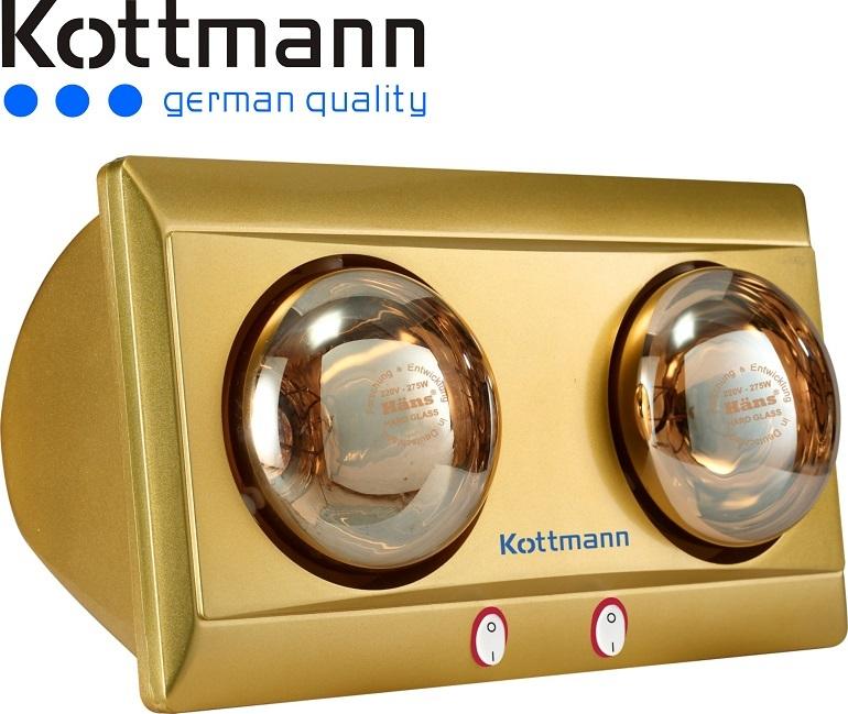 Công nghệ hiện đại của đèn sưởi nhà tắm kottmann