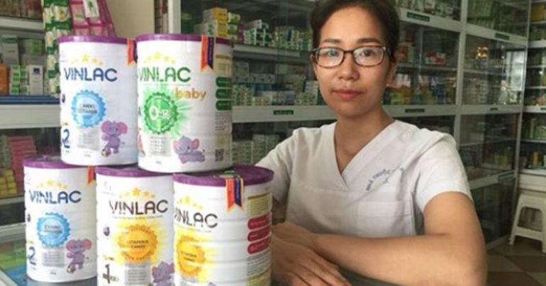 Sữa Vinlac có tăng cân không ? Giá sữa Vinlac của Vinameco bao nhiêu tiền ?