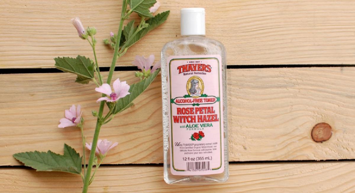 Nước hoa hồng Thayers Alcohol-free Rose Petal Witch Hazel with Aloe Vera