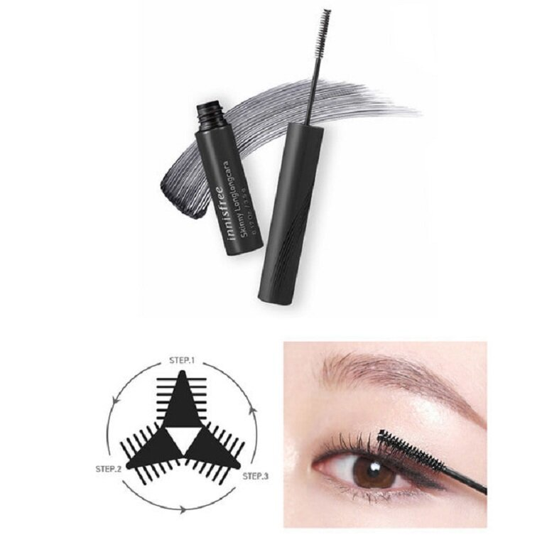 sử dụng mascara innisfree skinny