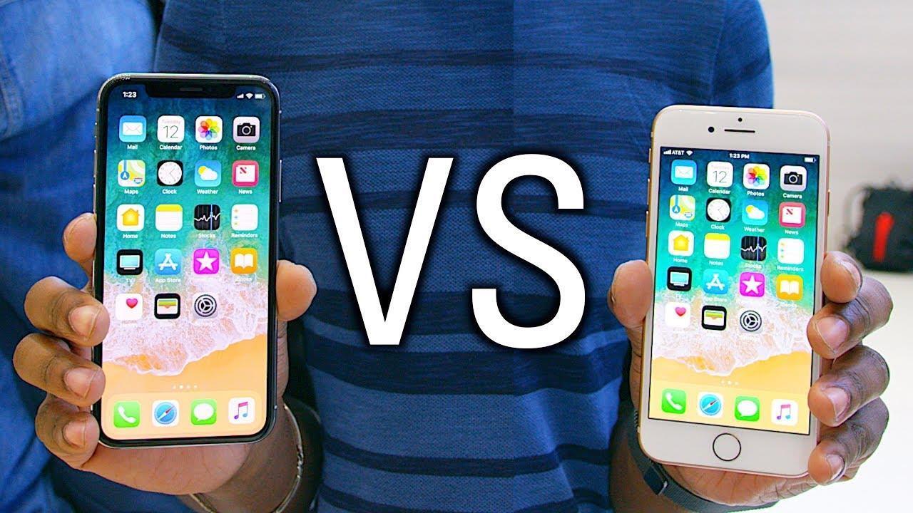 iphone x, iPhone 8 và 8 Plus