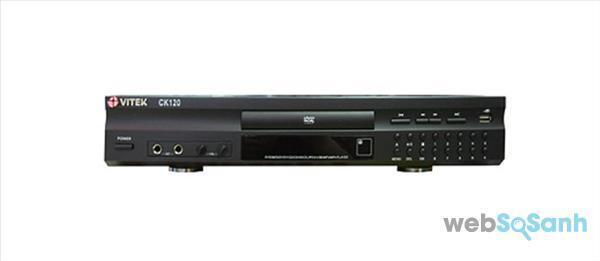Đầu karaoke Vitek CK120 - Giá tham khảo: 890k