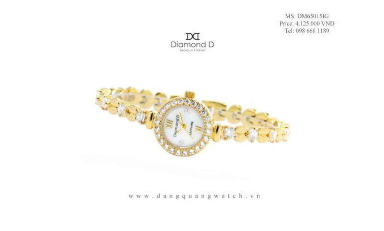 đồng hồ đăng quang watch Diamond D – DM65015IG