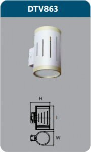 Đèn led gắn tường Duhal DTV863 6W