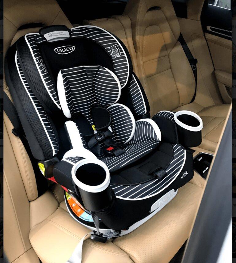 Các tính năng trên ghế ngồi ô tô cho bé Graco