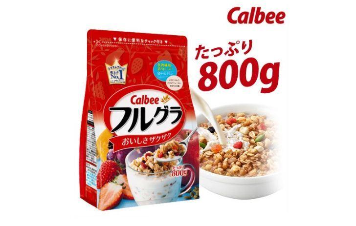 Ngũ cốc Calbee của nước nào sản xuất ?