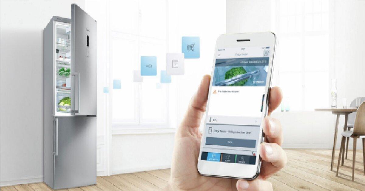 Hướng dẫn cách dùng tủ lạnh Bosch qua ứng dụng Home Connect App