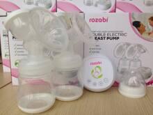 Máy hút sữa điện đôi Rozabi hút sữa hiệu quả không lo về giá