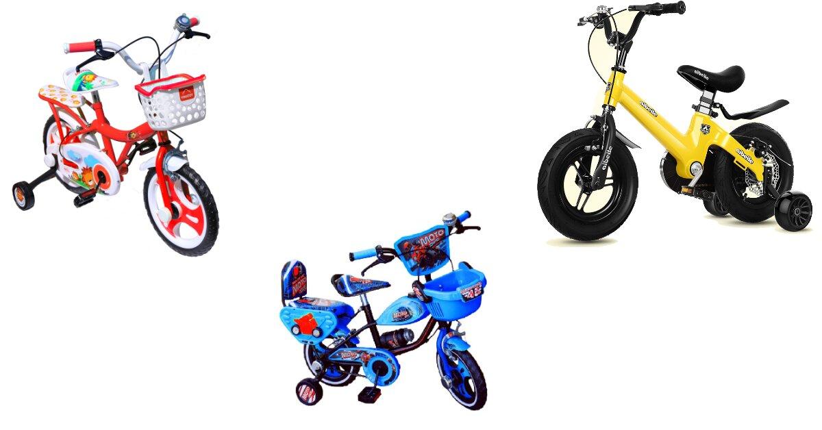 Xe đạp trẻ em 12 inch dùng cho trẻ mấy tuổi? Loại nào tốt? Giá ra sao?