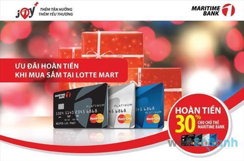 Làm thẻ tín dụng maritime bank