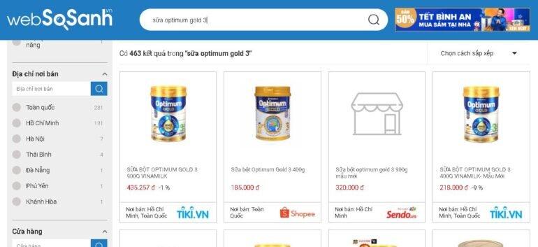 Review sữa Optimum Gold 3 có tốt không? Nên mua không?