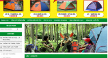 Thuê lều du lịch CHẤT giá bình dân với Leudulichcucre.com