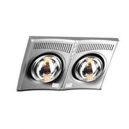 Đèn sưởi nhà tắm Hans H2B - 2 bóng
