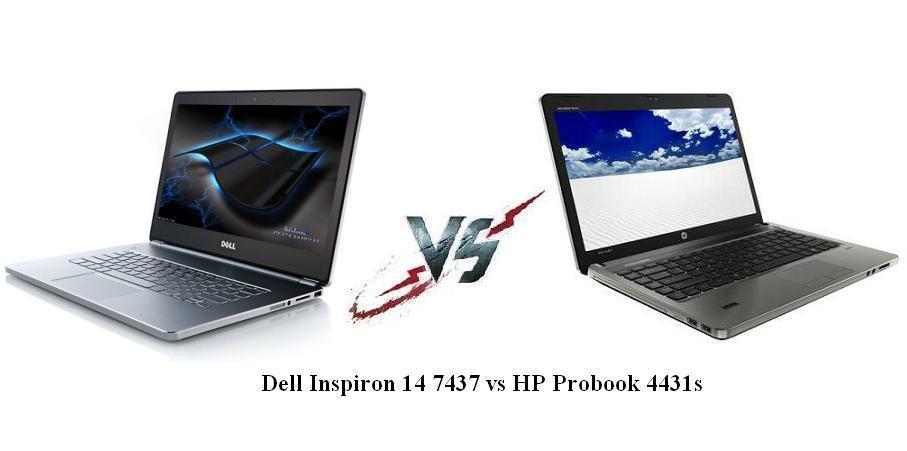 Dell Inspiron 14 7437 vs HP Probook 4431s