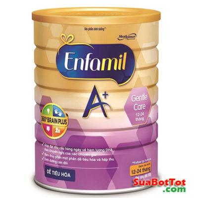 Sữa Enfamil A+ Gentle Care 900g (0 – 12 tháng)
