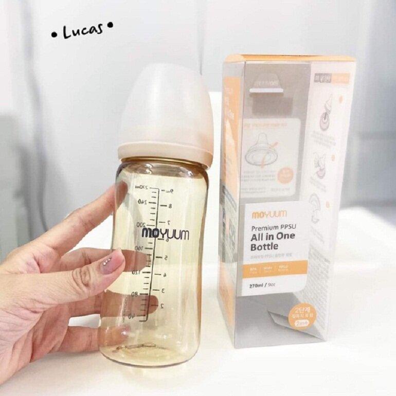 Bình sữa Hàn Quốc Moyuum