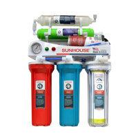 Máy lọc nước R.O Sunhouse SHR8806 (SHR-8806B) - 6 lõi, Inox không nhiễm từ