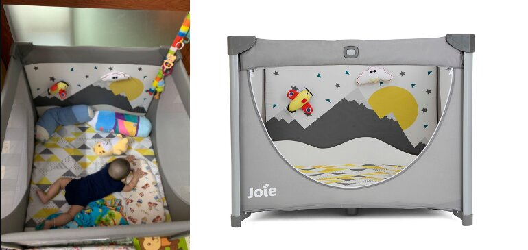 Giường cũi trẻ em Joie Cheer Little Explorer - Giá tham khảo: 2.299.000 vnđ