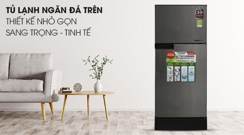 Tủ lạnh Sharp Inverter 165 lít SJ-X176E sẽ là lựa chọn phù hợp cho các gia đình có ít thành viên