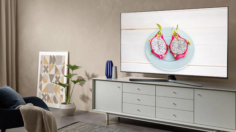 Smart Tivi Samsung 4K 55 inch UA55RU7400 - Giá rẻ nhất: 12.770.000 vnđ