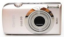Đánh giá máy ảnh du lịch Canon IXUS 210