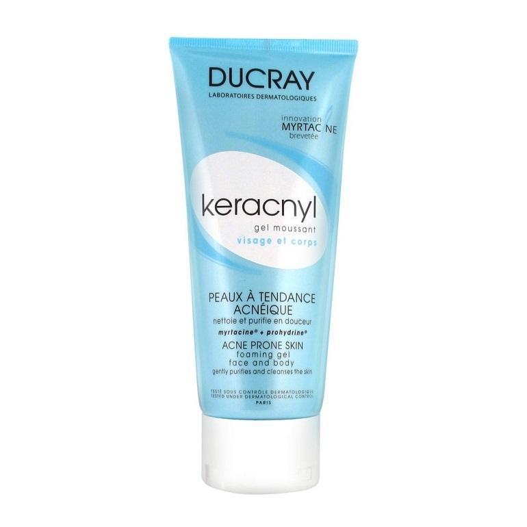 Sữa rửa mặt Ducray Aderma