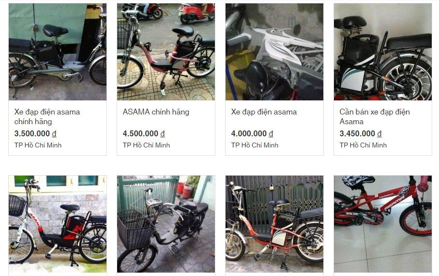 Xe đạp điện Asama cũ giá rẻ nhưng có nên mua không?